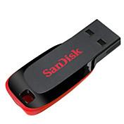 샌 디스크 크루저 블레이드 16 기가 바이트 USB 2.0 플래시 드라이브 점프 드라이브 펜 드라이브 sdcz50-016g