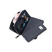 Etui Til Samsung Galaxy Samsung Galaxy Note Lommebok Heldekkende etui Helfarge PU Leather til Note 5 Edge Note 5