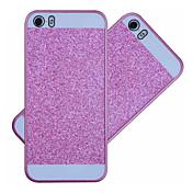 Etui Til iPhone 5 Etui iPhone 5 Bakdeksel Glimtende Glitter Hard PC til iPhone SE / 5s / iPhone 5