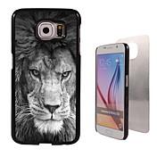 Para Funda Samsung Galaxy Carcasa Funda Diseños Cubierta Trasera Funda Animal Policarbonato para Samsung S6