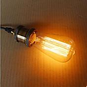 st58 60w retro industri glødelampe edison stil høy kvalitet