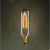 t10 e14 tube 220 v creative droplight bombilla decorativa restaurando formas antiguas