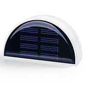 hry® 6 leds de control de luz de luz solar iluminación de la lámpara al aire libre de la pared camino del jardín valla a prueba de agua