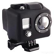 Glatt Ramme Beskyttende Etui Praktiskt Til Action-kamera Gopro 2 Gopro 1 Silikon