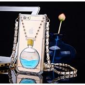 aroma estilo de alta calidad de la botella con un paso atrás para el iphone 6 más / 6s más (colores surtidos)