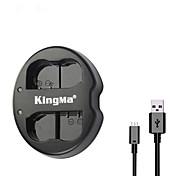 kingma® 니콘 D750의 D7100 D7000의 D610 D600의 d800e 카메라 니콘 EN-el15 배터리 듀얼 슬롯 USB 배터리 충전기