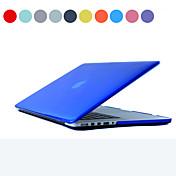 MacBook Funda para Color sólido Transparente El plastico MacBook Pro 13 Pulgadas con Pantalla Retina