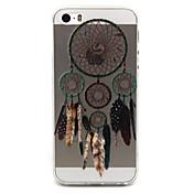 제품 아이폰5케이스 케이스 커버 투명 패턴 뒷면 커버 케이스 포수 드림 소프트 TPU 용 iPhone SE/5s iPhone 5