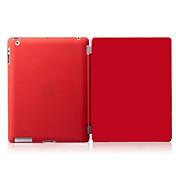 Etui Til Apple iPad Mini 4 iPad Mini 3/2/1 iPad 4/3/2 Autodvale / aktivasjon Magnetisk Heldekkende etui Ensfarget Hard PU Leather til