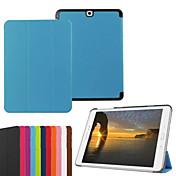 Etui Til Samsung Galaxy Tab A 9.7 Tab En 8,0 Tab S2 9.7 Tab S2 8,0 Samsung Galaxy Etui med stativ Flipp Origami Heldekkende etui Helfarge