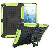 Etui Til iPad Mini 3/2/1 Støtsikker med stativ Bakdeksel Rustning PC til iPad Mini 3/2/1