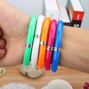 Marcadores y Resaltadores Bolígrafo Bolígrafos Bolígrafo, El plastico Colores Aleatorios colores de tinta For Suministros de la escuela