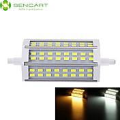 SENCART 1000-1200lm R7S LED-lyskastere Innfelt retropassform 48 LED perler SMD 5730 Mulighet for demping Varm hvit / Kjølig hvit 85-265V
