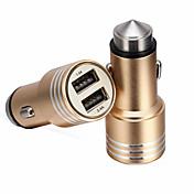Renepai® 2-en-1 12v / 24v dc coche encendedor de cigarrillos doble adaptador de corriente divisor de enchufe