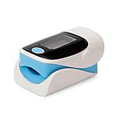 손가락 맥박 측정기 수동 LCD 디스플레이 / 목소리 / 메모리 저장기 배터리