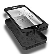 Etui Til Apple iPhone 6 iPhone 6 Plus Vannavvisende Støvtett Støtsikker Heldekkende etui Helfarge Myk TPU til iPhone 6s Plus iPhone 6s