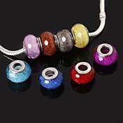 DIY Smykker Harpiks 4 5 6 7 8 Rund form Perlene DIY Halskjeder Armbånd
