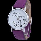 CURREN® Woman's Fashion Quzrtz Tidal Alphabet Wrist  Watch Cool Watches Unique Watches