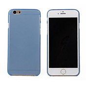 Funda Para Apple iPhone 6 iPhone 6 Plus Ultrafina Transparente Funda Trasera Color sólido Dura ordenador personal para iPhone 6s Plus