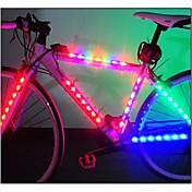 자전거 라이트 안전 등 바퀴 등 LED - 싸이클링 휴대성 LED 라이트 AAA 루멘 배터리 사이클링