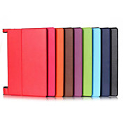 Etui Til Lenovo Heldekkende etui / Tablet Cases Ensfarget Hard PU Leather til