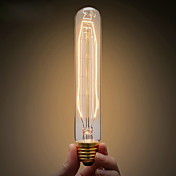 ecolight® e27 40w 3700k warmwhite loft industria retro bulbo incandescente edison bulbo (ac220 ~ 265v