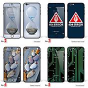 1 stk Heldekkende beskyttelse til Tegneserie iPhone 6s Plus/6 Plus