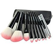 9pcs Makeup børster Profesjonell Børstesett Syntetisk hår / Kunstig fiber børste Bærbar / Reisen / Profesjonell Tre Stor Børste / Middels