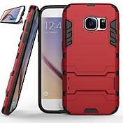 Etui Til Samsung Galaxy Samsung Galaxy S7 Edge Støtsikker / med stativ Bakdeksel Rustning PC til S8 Plus / S8 / S7 edge