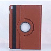 etui for ipad mini 4/3/2/1 ipad 4/3/2 ipad air 2 ipad luft med stand origami 360 ° rotasjon hele kroppen tilfeller solid farge pu for iPad pro 9,7