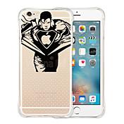 Funda Para Apple iPhone 6 iPhone 6 Plus Antigolpes Transparente Diseños Funda Trasera Logo Playing With Apple Suave Silicona para iPhone