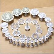 Herramienta de decoración Kit de Decoración Flor Chocolate Galleta Pastel El plastico Ecológica Alta calidad 3D