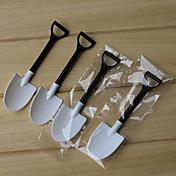 Herramientas de cocina Plásticos Palas / Cucharita de Postres / Novedades para helado 100pcs