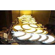 panel de luces led 2835 smd 2835 500-550lm blanco cálido blanco frío natural blanco 2800-6500k ac decorativo 85-265v