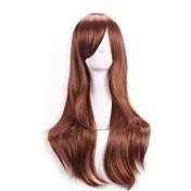 Pelo sintético pelucas Ondulado Medio Sin Tapa Peluca de carnaval Peluca de Halloween