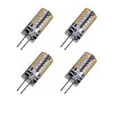 2W G4 Bombillas LED de Mazorca MR11 48 leds SMD 3014 Decorativa Blanco Cálido Blanco Fresco 150-200lm 3000-3500 6000-6500K DC 12 AC