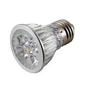 E26/E27 LED 스팟 조명 MR16 4 LED가 고성능 LED 밝기조절가능 장식 따뜻한 화이트 차가운 화이트 400lm 3000/6000K AC 85-265V