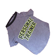 Perro Camiseta Ropa para Perro Gris Disfraz Para mascotas