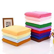 Frisk stil Badehåndkle, Ensfarget Overlegen kvalitet 100% Mikro Fiber Polyester Hånd håndklæ