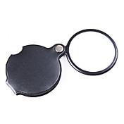 Forstørrelsesglass Leser Generelt bruk Generisk Høy definisjon Håndholdt Foldbar 6X 50mm Normal PU Lær
