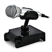 3.5mmMicrophoneAlámbrico Micrófono de Ordenador Micrófono Condensador