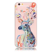 Per iPhone X iPhone 8 iPhone 6 iPhone 6 Plus Custodie cover Fosforescente Custodia posteriore Custodia Mattonella Morbido TPU per Apple