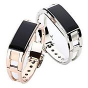 Mujer Reloj Smart Reloj Pulsera Digital LED Mando a Distancia Calendario alarma Podómetro Monitores para Fitnes Cronómetro Aleación Banda