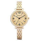 REBIRTH Mujer Reloj de Pulsera Reloj Pulsera Reloj de Moda Cuarzo / Gran venta Aleación Banda Casual Elegant Plata Dorado