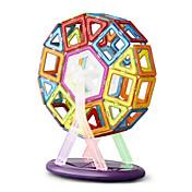 Kit de Bricolaje Juguetes Magnéticos Bloques de Construcción Puzzle bloques magnéticos Juegos de construcción magnéticos 64 Piezas