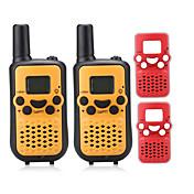 T899BR Walkie-talkie Håndholdt VOX LCD Skan Overvågning 3-5 km 3-5 km 8 0.5W Walkie Talkie Toveis radio