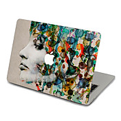 1 pieza Adhesivo para Anti-Arañazos Caricaturas Ultra Delgado Mate Diseño PVC MacBook Pro 15'' with Retina MacBook Pro 15 '' MacBook Pro