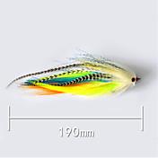 """pcs Cebos Señuelos duros g/Onza,190 mm/7-3/4"""" pulgada,Plástico blando Pesca de baitcasting"""