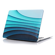 "MacBook Etui til Fullbody Etuier Bølger Plast Macbook Pro 15 "" MacBook Air 13 "" MacBook Pro 13 "" MacBook Air 11 "" MacBook MacBook Pro 15"