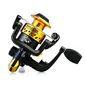 Carrete de la pesca Carretes para pesca spinning 5.1:1 Relación de transmisión+3 Rodamientos de bolas Orientación de las manos